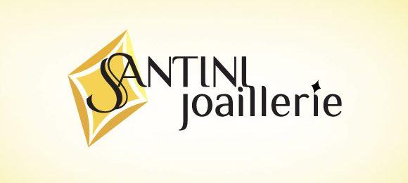 Logo de la bijouterie Santini Joaillerie